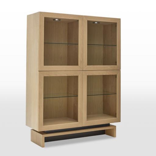 Display Cabinet SK5506 - Oskar Collection - Wood Bros Furniture