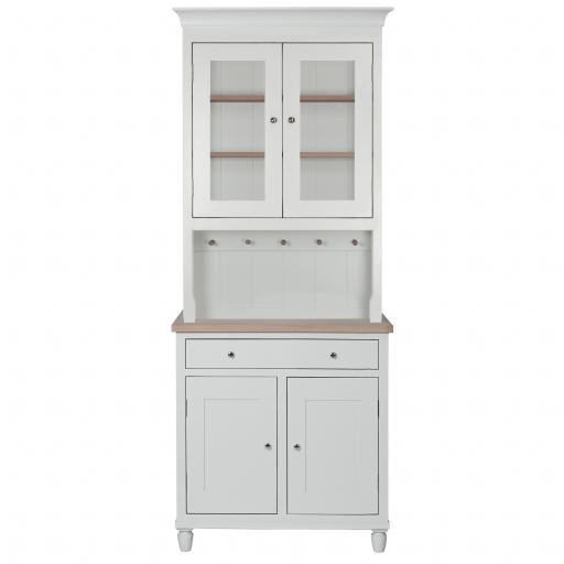 Suffolk 3ft Glazed Dresser - Neptune Furniture