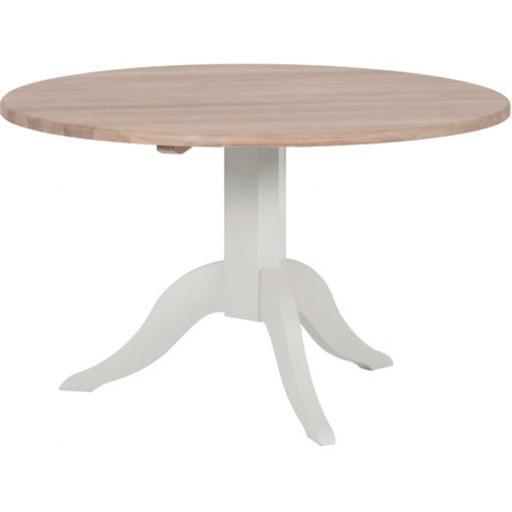 Chichester 4-Seater Round Dining Table - Neptune Furniture
