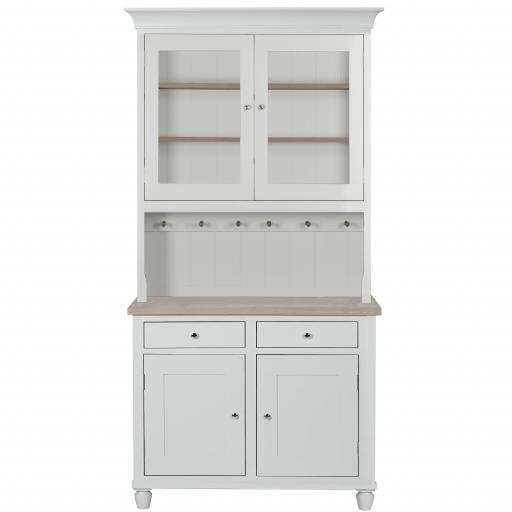 Suffolk 4ft Glazed Dresser - Neptune Furniture