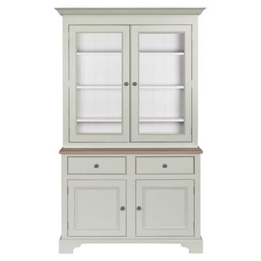 Chichester 4ft Glazed Rack Dresser - Neptune Furniture