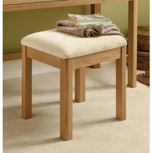 Stockholm Dressing Stool - Winsor Bedroom Furniture WN32