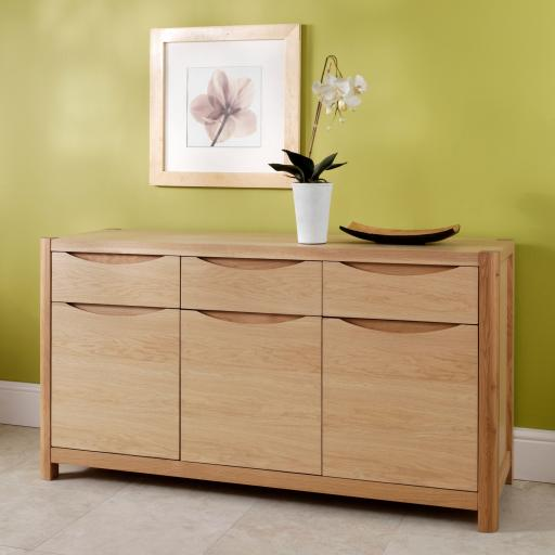 Stockholm 3 Door Sideboard - Winsor Furniture WN201