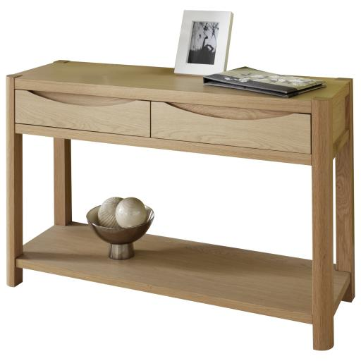 Stockholm 2 Drawer Hall Table - Winsor Furniture WN215