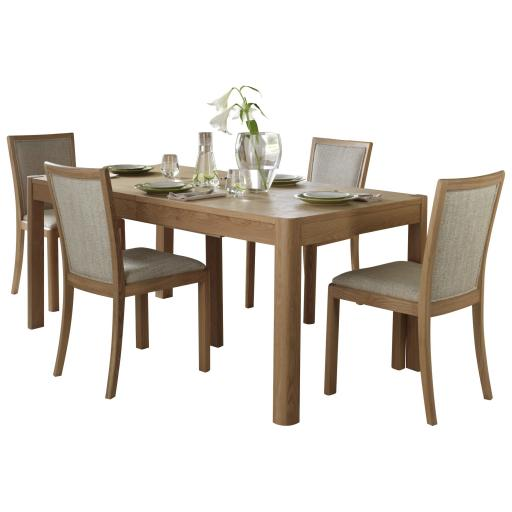 Stockholm 90cm Extending Dining Table - Winsor Furniture WN217C