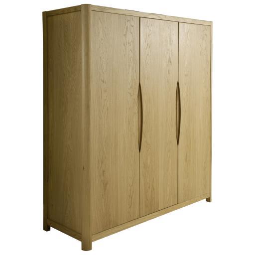 Stockholm 3 Door Wardrobe - Winsor Bedroom Furniture WN31