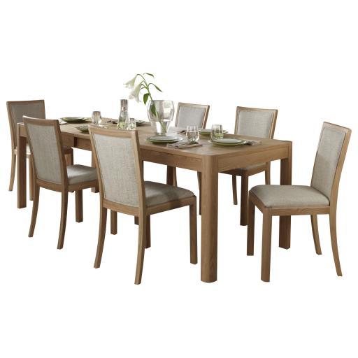 Stockholm 180cm Large Extending Dining Table - Winsor Furniture WN217