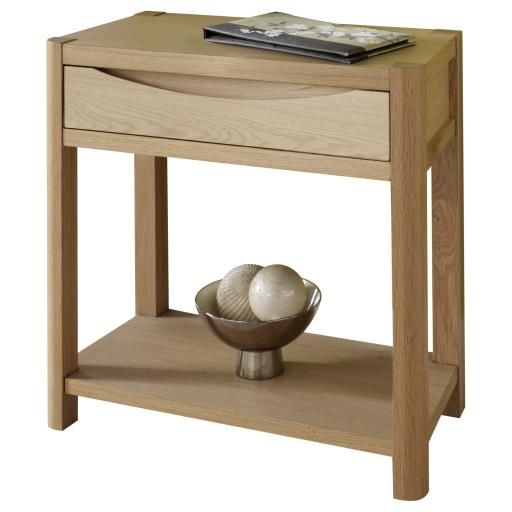 Stockholm 1 Drawer Hall Table - Winsor Furniture WN214