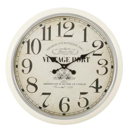 Vintage Port Clock MHA001 - Mindy Brownes