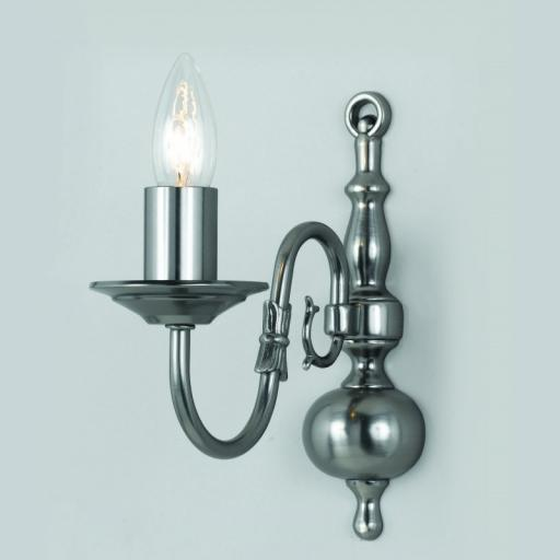 Flemish Wall Light BF00350/01/WB - Impex Lighting