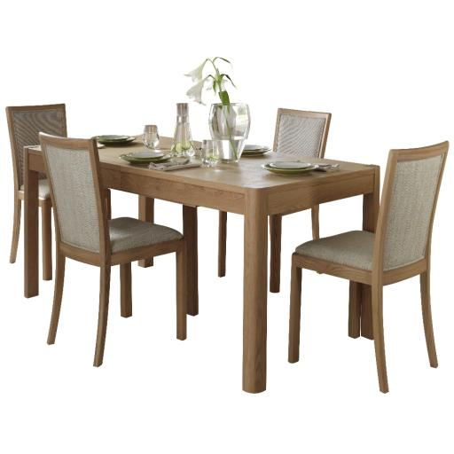Stockholm 120cm Extending Dining Table - Winsor Furniture WN217B