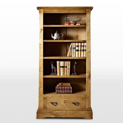 Chatsworth Bookcase with Drawer CT2881 - Old Charm Furniture