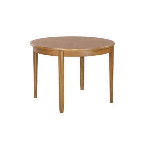 Nathan Furniture 2134 Circular Dining Table on Legs - Classic Teak Range