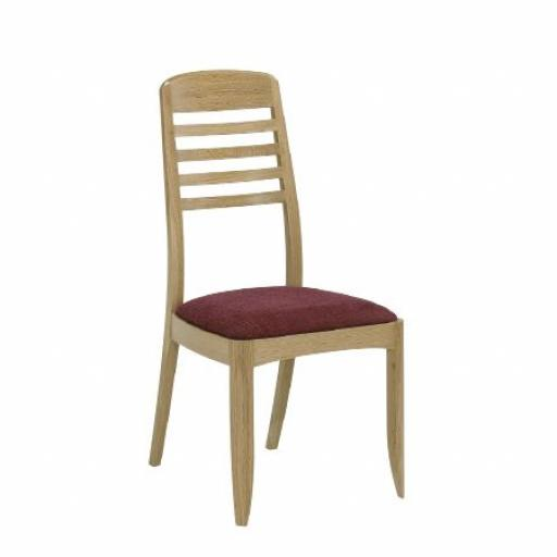 3815 Ladder Back Dining Chair - Nathan Furniture - Shades Oak