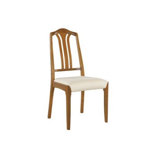 Nathan Furniture 3114 Slat-Back Dining Chair - Classic Teak Range