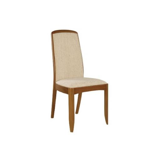 Nathan Furniture 3804 Fully Upholstered Dining Chair - Classic Teak Range