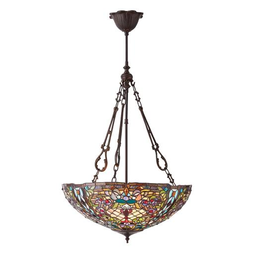 Anderson Large Inverted 3Lt Pendant - Interiors 1900 Tiffany Lighting