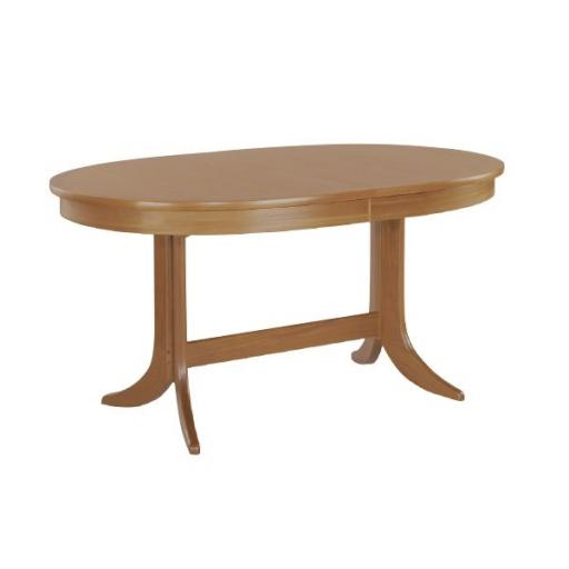 Nathan Furniture 2104 Large Oval Pedestal Dining Table - Classic Teak Range