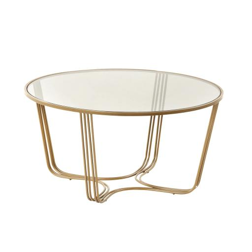 Darla Coffee Table Gold - TF041 - Mindy Brownes Furniture