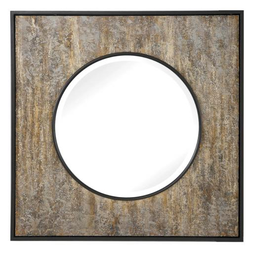 Archibald Square Mirror (R09568) - Mindy Brownes