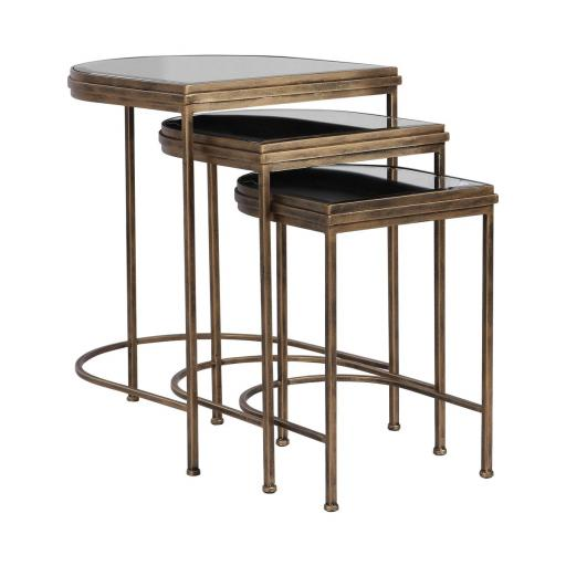 India Nesting Tables Set of 3 (24908) - Mindy Brownes