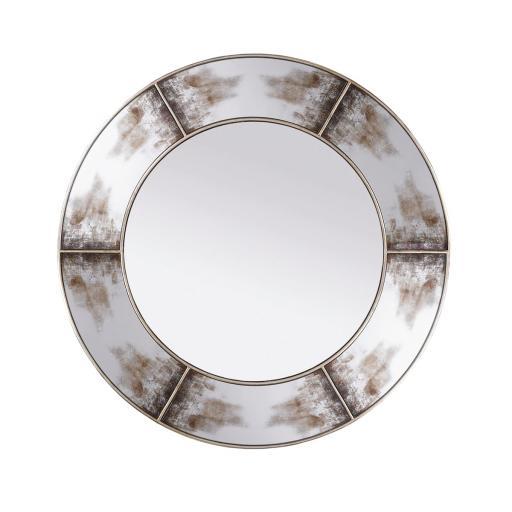 Zahra Mirror Round - (HUA086) - Mindy Brownes