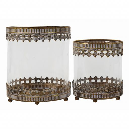 Zoe Lantern Set/ 2 - (FUZ046) - Mindy Brownes