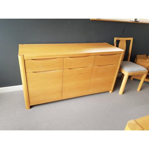 Winsor Stockholm 3 Door Sideboard WN201 - Winsor Furniture - Showroom Clearance