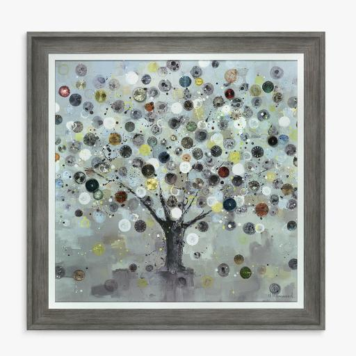Ulyana Hammond - The Watch Tree (Small) Framed Canvas & Mount, 60 x 60cm