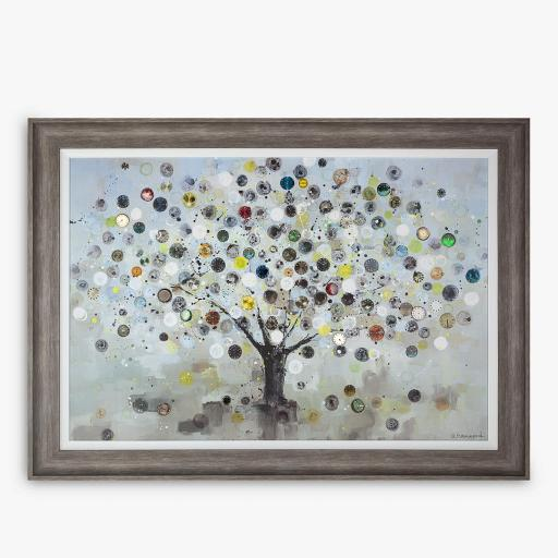 Ulyana Hammond - The Watch Tree (Large) Framed Canvas & Mount, 85 x 117cm