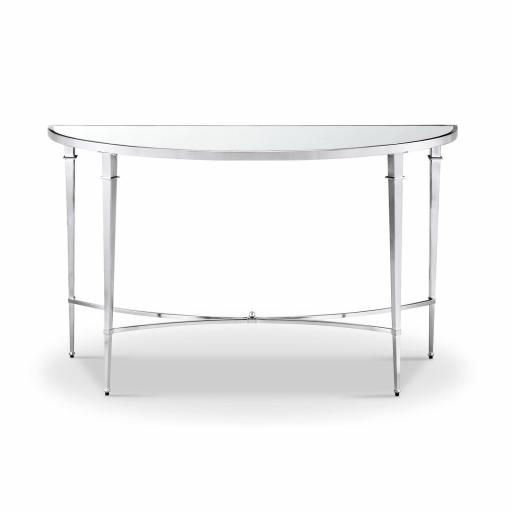 Adley Console Table YCF006 (assembly required) - Mindy Brownes Furniture