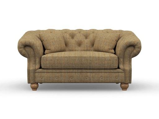 Deepdale Love Seat Herringbone Moss_Wood Bros.jpg