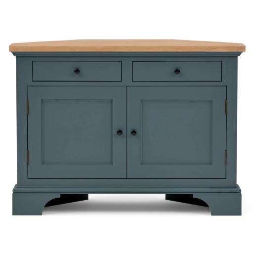 Henley 3ft6 Corner TV Cabinet - Neptune Furniture