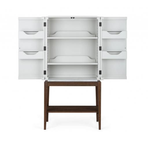 Ardingly Cabinet with Shelf and Marble - Neptune Furniture