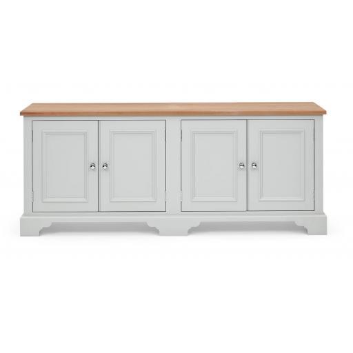 Chichester 6ft Bookcase Base - Neptune Furniture