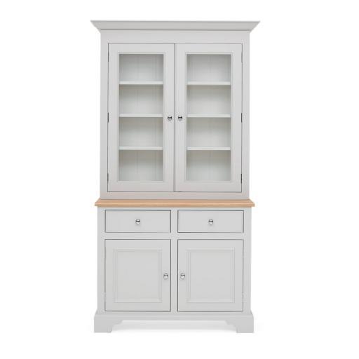Chichester 3ft6 Glazed Rack Dresser - Neptune Furniture