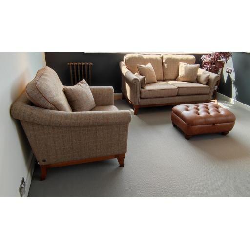 Wood Bros Old Charm Weybourne Sofa & Armchair - Showroom Clearance