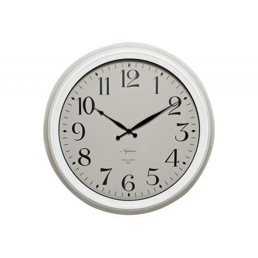 Harrison Wall Clock - Driftwood - Neptune Furniture