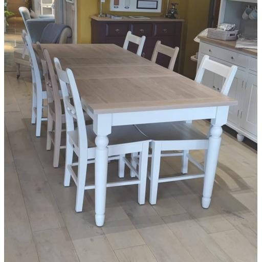Suffolk 150cm Extending Table & Chairs - Neptune Furniture Clearance