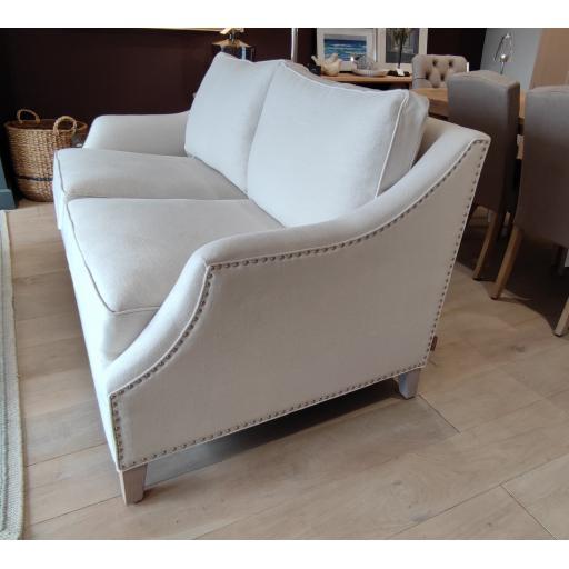 Neptune Eva Medium Sofa in Pale Oat (Brand new) - Neptune Furniture Clearance